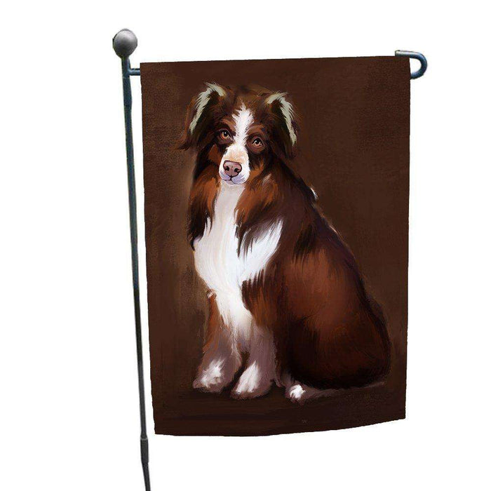Australian Shepherd Dog Garden Flag