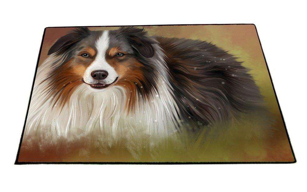 Australian Shepherd Dog Indoor/Outdoor Floormat