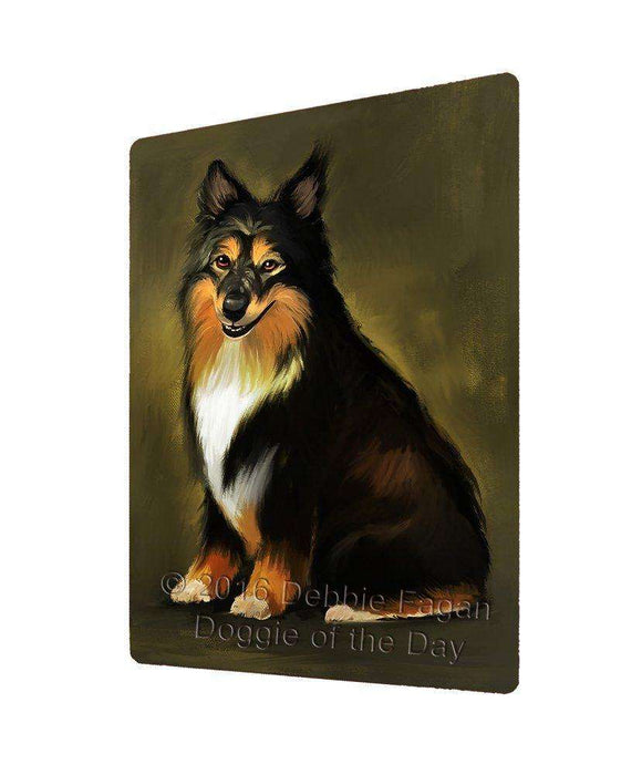 Australian Shepherd Dog Large Refrigerator / Dishwasher Magnet