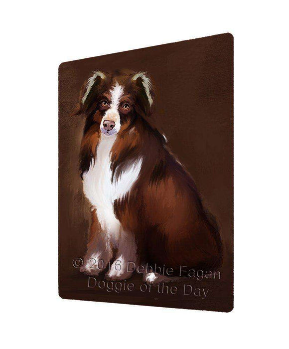 "Australian Shepherd Dog Magnet Small (5.5"" x 4.25"")"