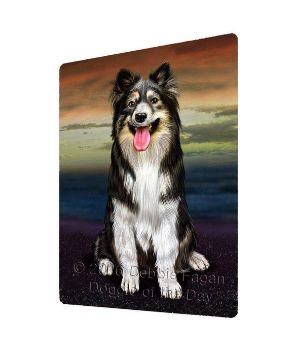 "Australian Shepherd Dog Magnet Mini (3.5"" x 2"")"