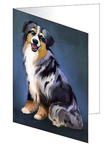 Australian Shepherd Dog Note Card