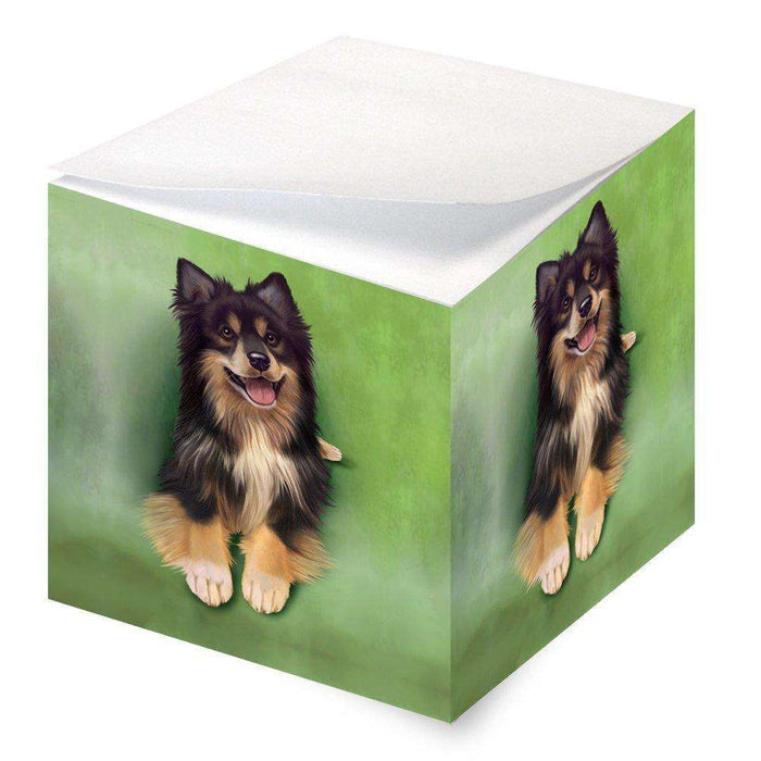 Australian Shepherd Dog Note Cube