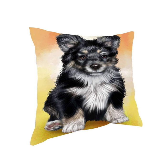 Australian Shepherd Dog Throw Pillow