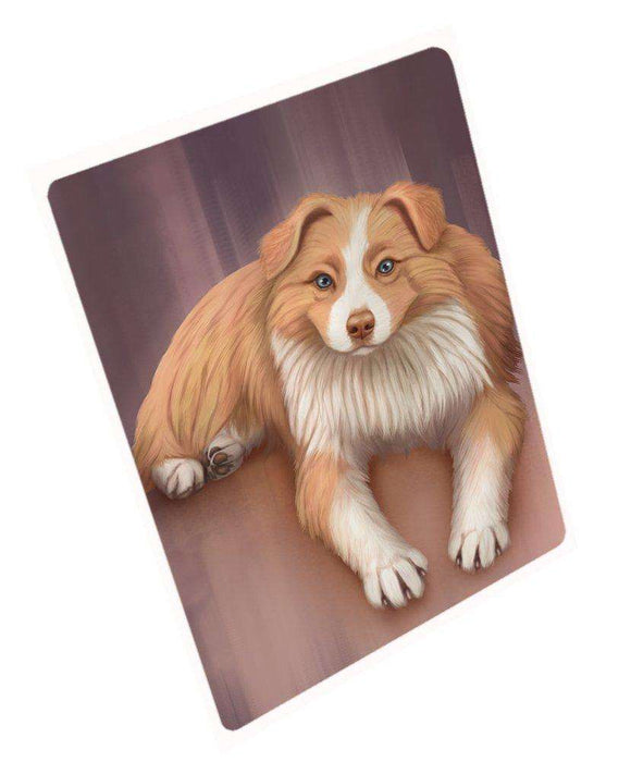 Australian Shepherd Red Merle Dog Mousepad