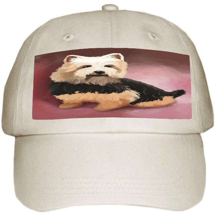 Australian Terrier Dog Ball Hat Cap