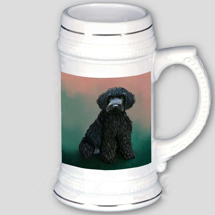 Barbet Dog Beer Stein