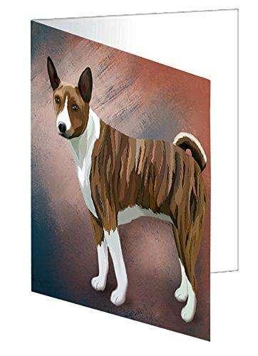 Basenji African Hunting Dog Note Card