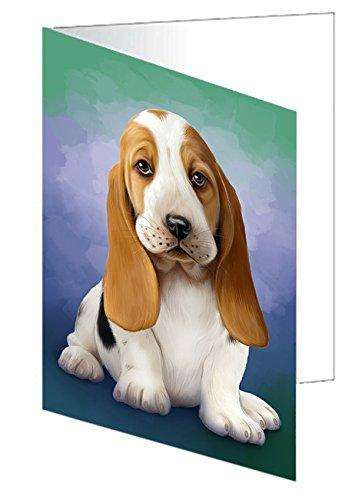 Basset Hound Dog Note Card