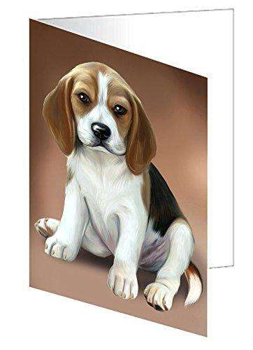 Beagle Dog Note Card