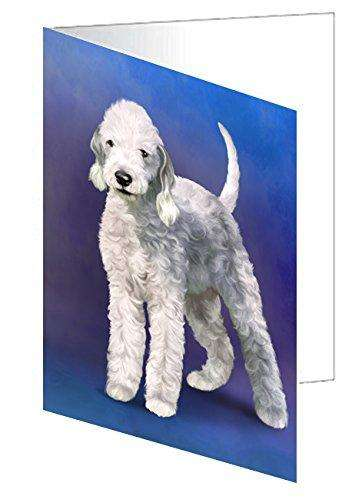 Bedlington Terrier Dog Greeting Card