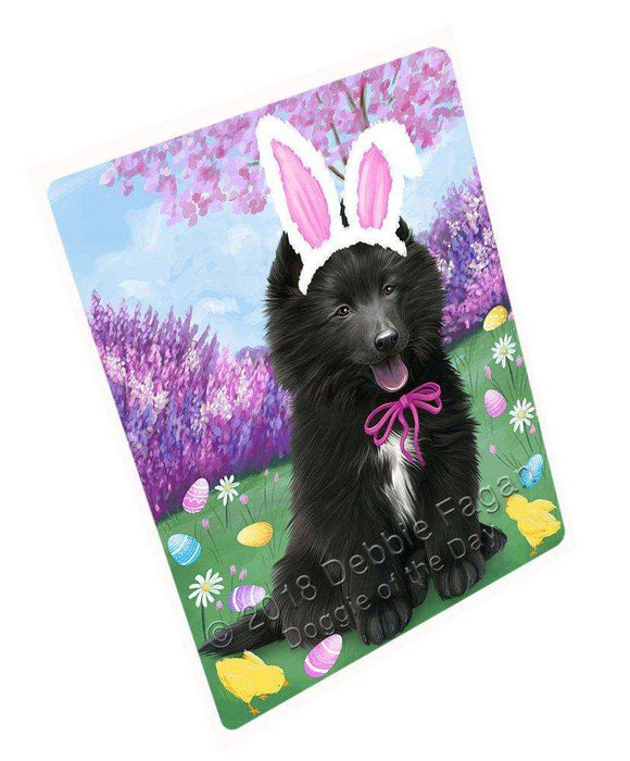 "Belgian Shepherd Dog Easter Holiday Magnet Mini (3.5"" x 2"") MAG51009"