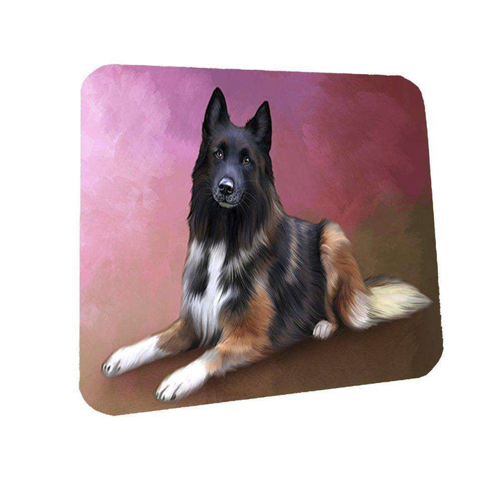 Belgian Tervuren Dog Coasters Set of 4