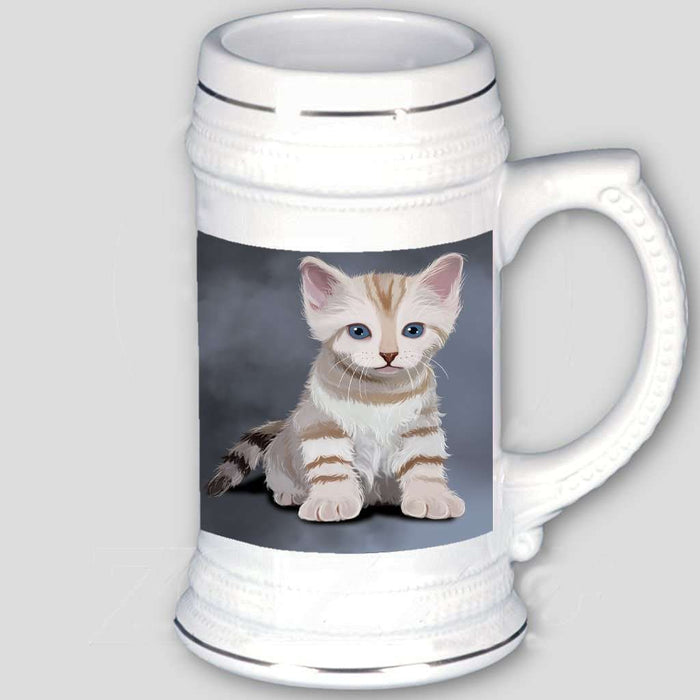 Bengal Kitten Cat Beer Stein