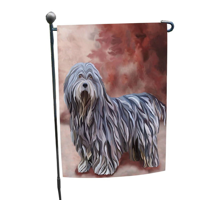 Bergamasco Dog Garden Flag