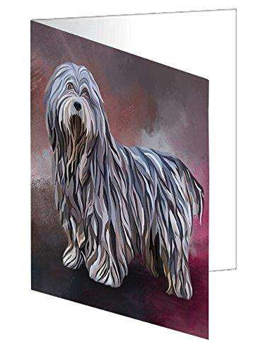 Bergamasco Pastori Dog Note Card