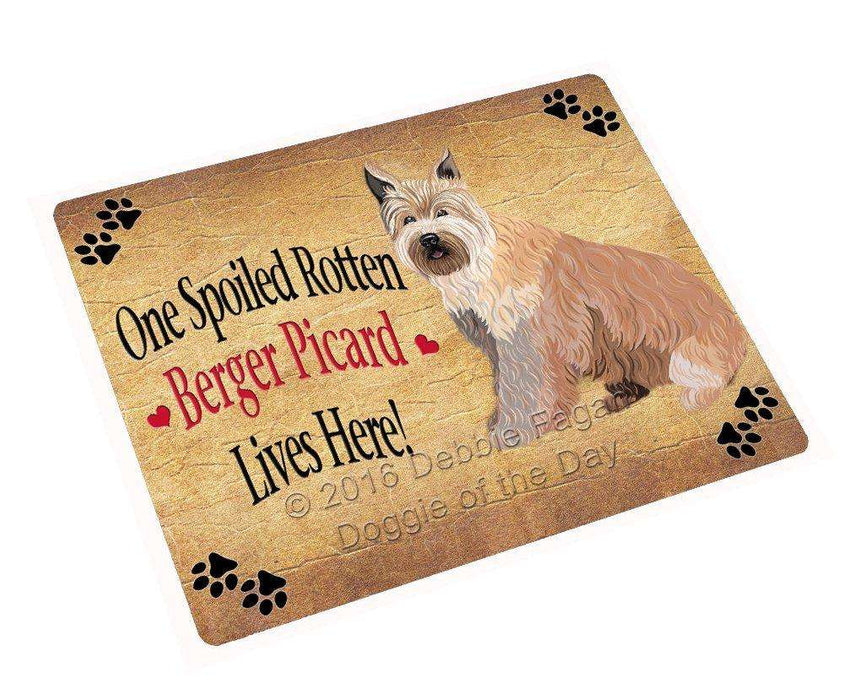 "Berger Picard Spoiled Rotten Dog Magnet Mini (3.5"" x 2"")"