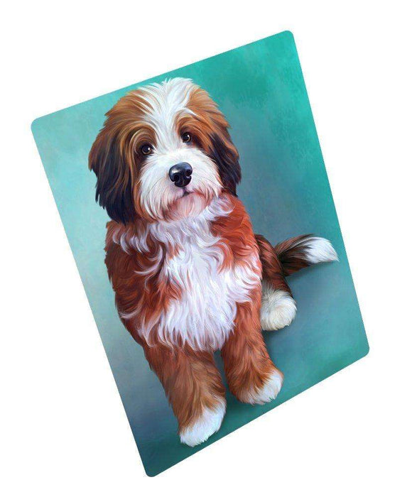 "Bernedoodle Dog Magnet Mini (3.5"" x 2"")"