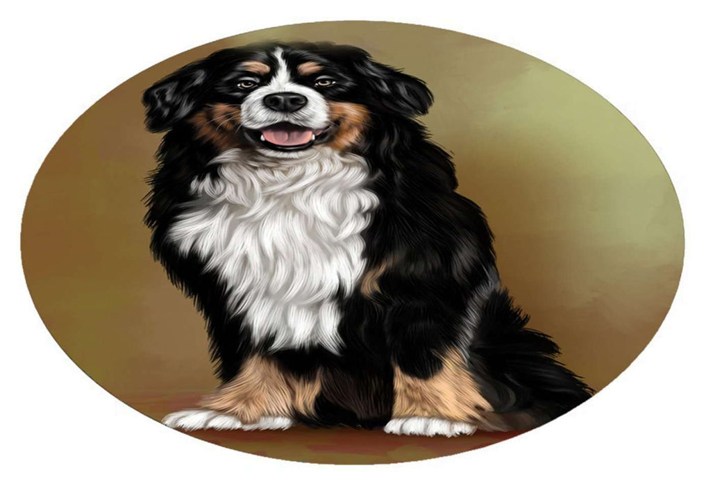 Bernese Mountain Adult Dog Oval Envelope Seals