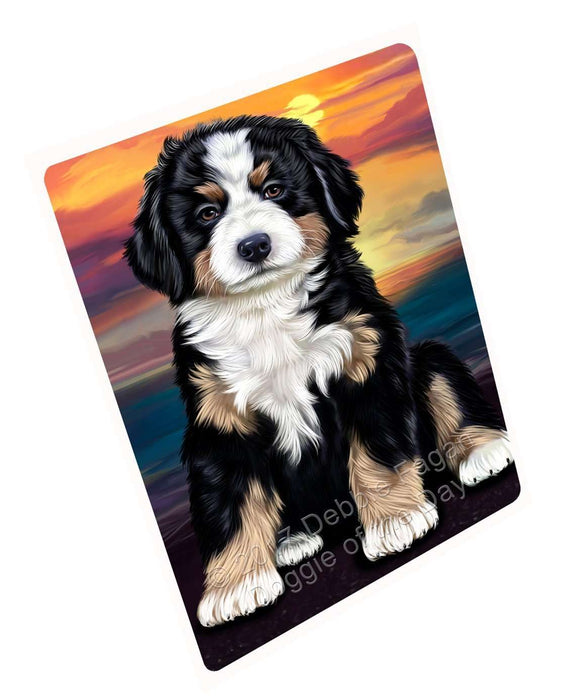 "Bernese Mountain Dog Magnet Mini (3.5"" x 2"")"