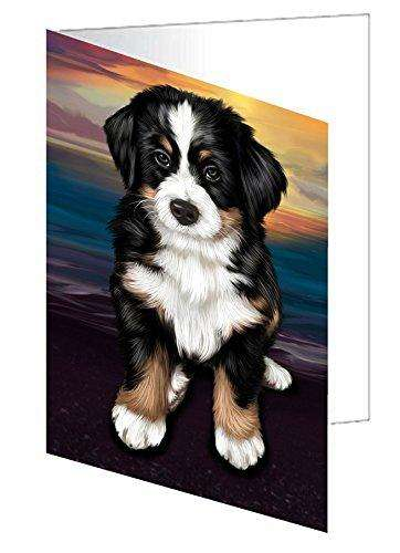 Bernese Mountain Dog Note Card