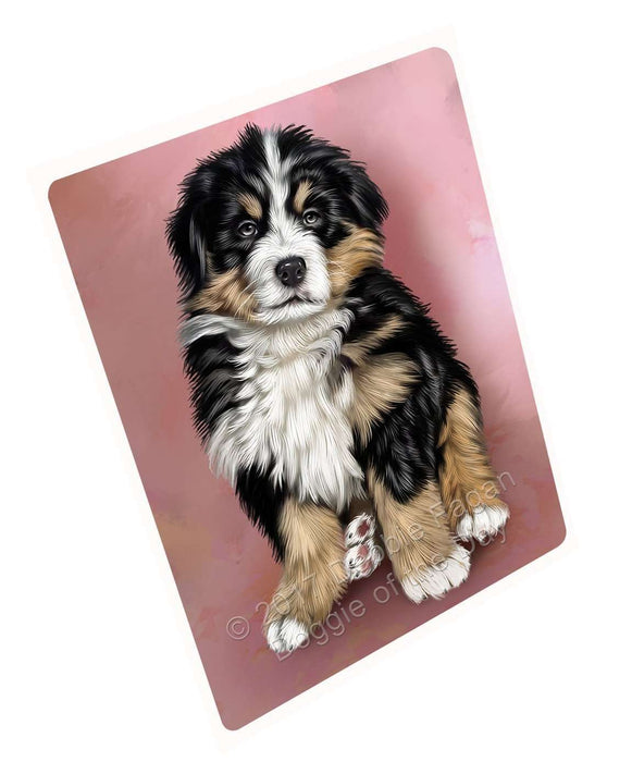 Bernese Mountain Puppy Dog Magnet