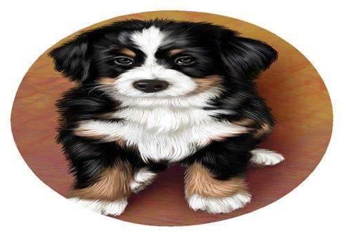 Bernese Mountain Puppy Dog Oval Envelope Seals