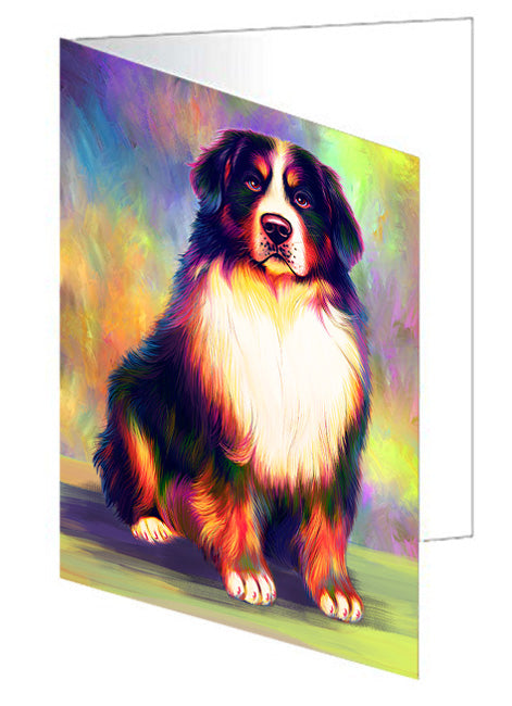 Pardise Wave Bernese Mountain Dog Note Card NCD64811