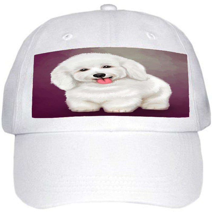 Bichon Frise Dog Ball Hat Cap