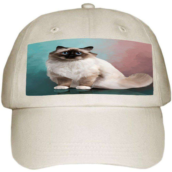Birman Cat Ball Hat Cap