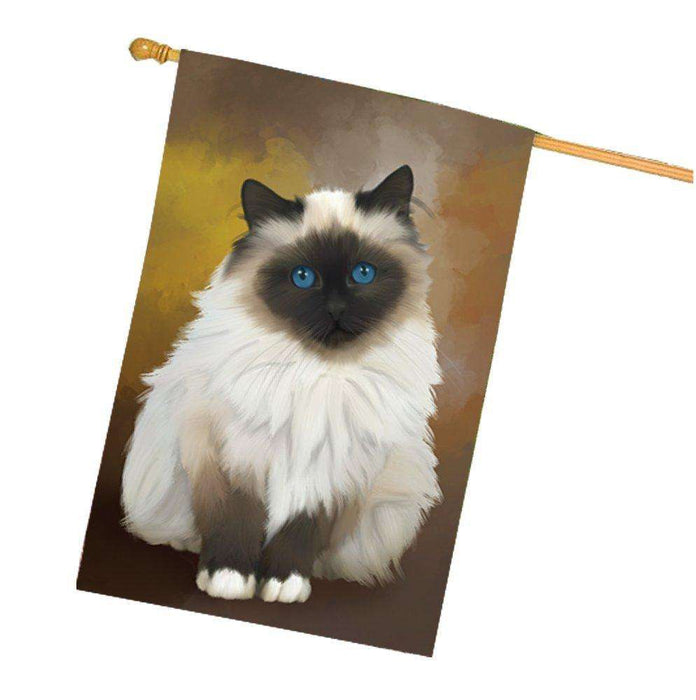 Birman Cat House Flag