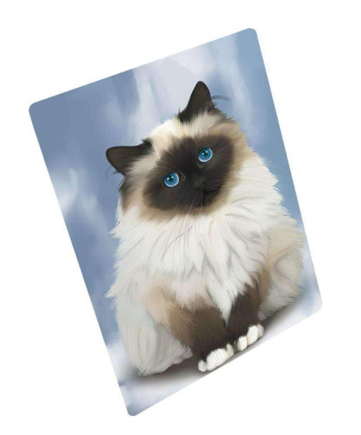 "Birman Cat Magnet Small (5.5"" x 4.25"")"