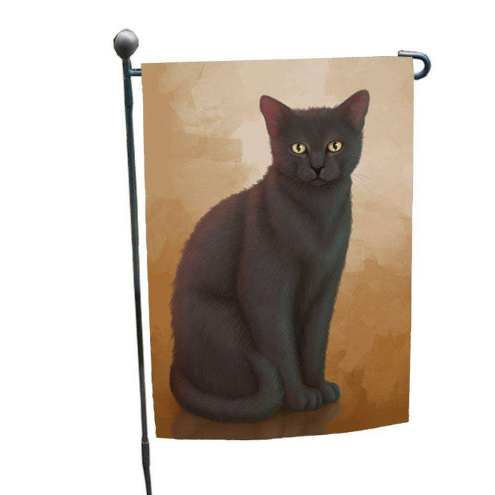 Black Cat Garden Flag