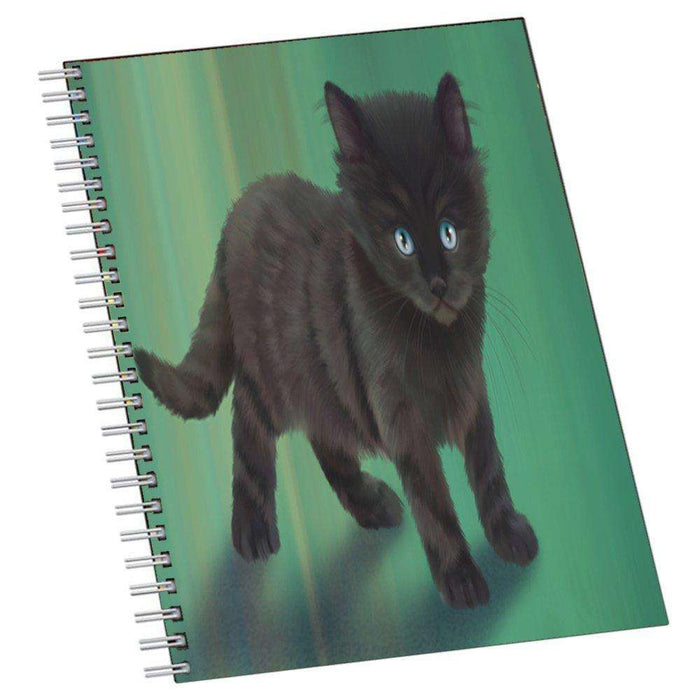Black Kitten Cat Notebook