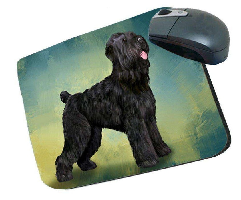 Black Russian Terrier Dog Mousepad