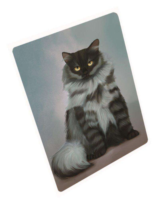 Black Smoke Siberian Cat Mousepad