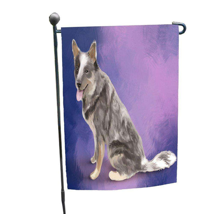 Blue Heeler Dog Garden Flag