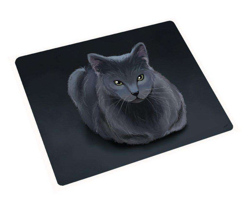 Blue Russian Cat Magnet