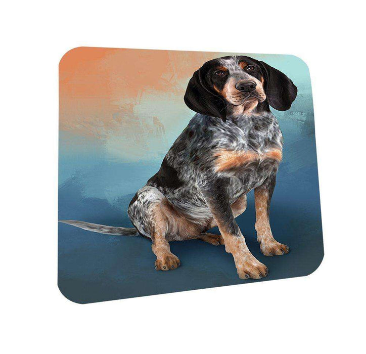 Bluetick Coonhound Dog Coasters Set of 4