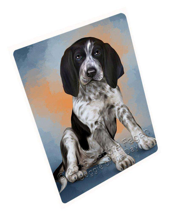 "Bluetick Coonhound Dog Magnet Mini (3.5"" x 2"")"