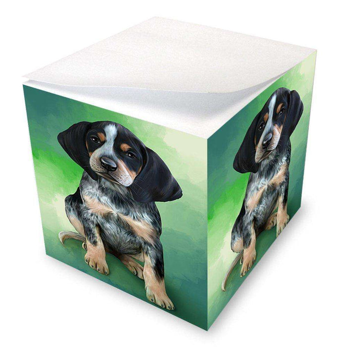 Bluetick Coonhound Dog Note Cube