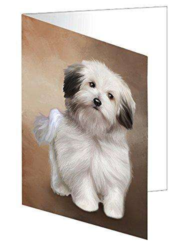 Bolognese Dog Note Card