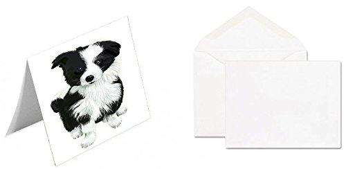 Border Collie Dog Greeting Card