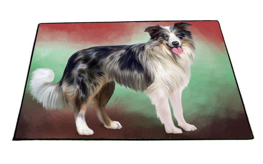Border Collie Dog Indoor/Outdoor Floormat