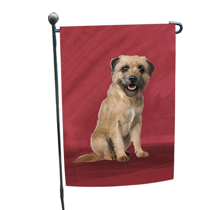 Border Terrier Dog Garden Flag