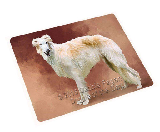 "Borzois Dog Magnet Small (5.5"" x 4.25"")"
