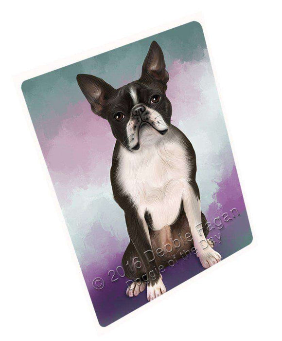 "Boston Terriers Dog Magnet Mini (3.5"" x 2"") MG025"