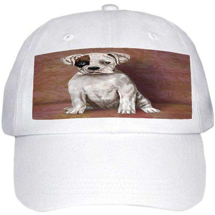 Boxer Dog Ball Hat Cap