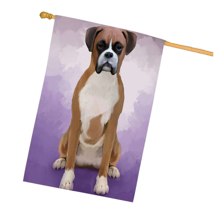 Boxers Dog House Flag