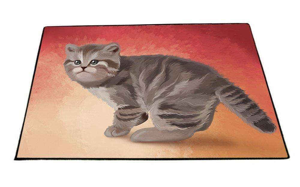 British Shorthair Cat Indoor/Outdoor Floormat D102